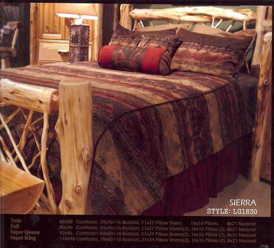 Tahoe Lodge Style Furnishings Cabin Fever Tahoe Bedding