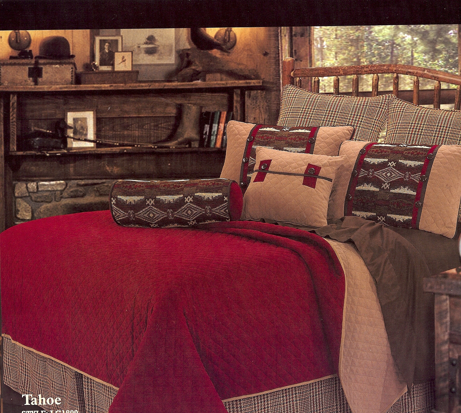 sale leaves black comforters piece queen red themed spot lodge bear cabins cabin set quilt best and bedding amazon white blue full sets top hunting
